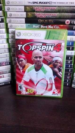 Top Spin 4 Xbox 360 Original