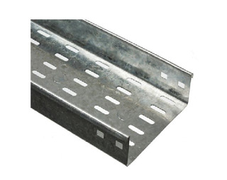 Bandeja Portacables Perforada 600mm 0.9 Galv X3m Elece