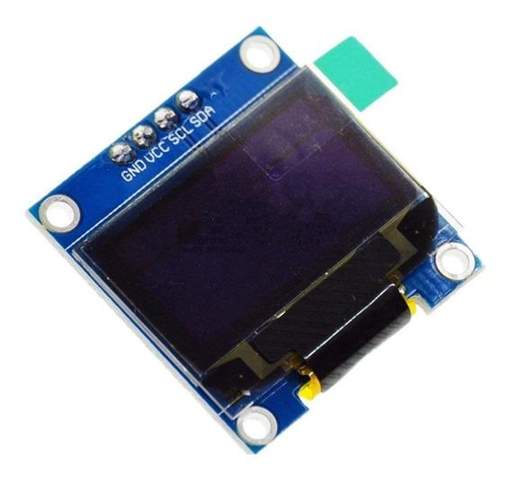 Display Gráfico Oled 128x64 0.96 I2c Serial Fundo Branco