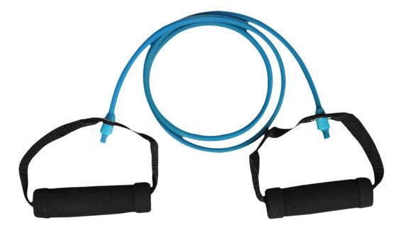 Liga De Resistencia Baja Armor Blue Fitness Azul