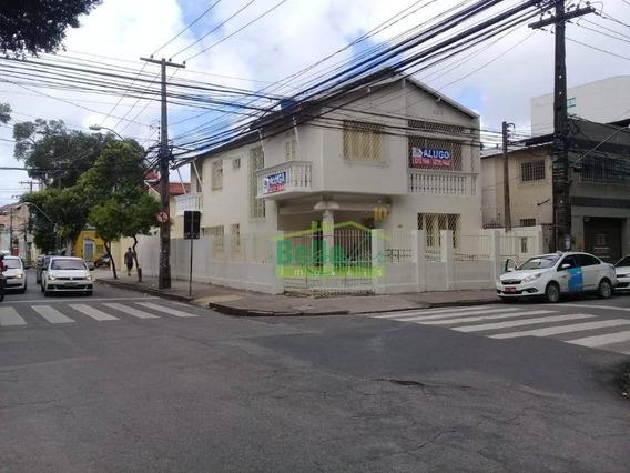 Casa Para Alugar, 350 M² Por R$ 13.000/mês - Boa Vista - Recife/pe - Ca0519