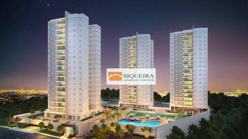 Residencial Cannes - Apartamento Com 3 Dormitórios À Venda Por R$ 699.000 - Parque Campolim - Sorocaba/sp - Ap1863
