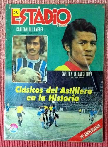 Barcelona Revista Estadio Clasicos Del Astillero 1972