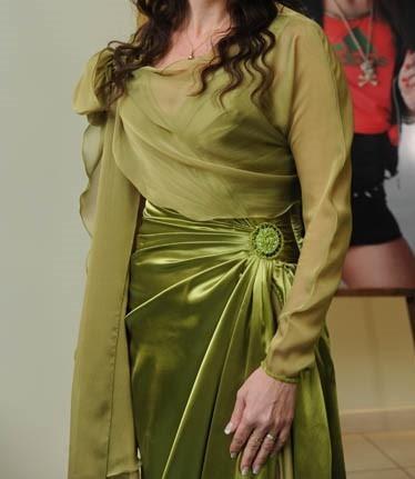 Vestido De Mujer Verde Limón Para Fiestas