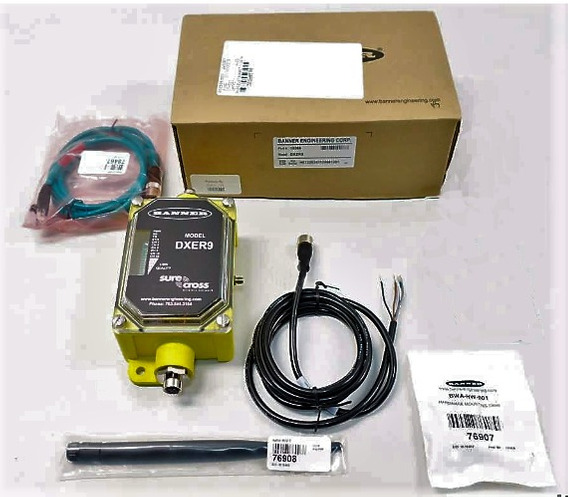 Banner Surecross Dxer9 Ip67 Ethernet Data Radio Wifi 900mhz