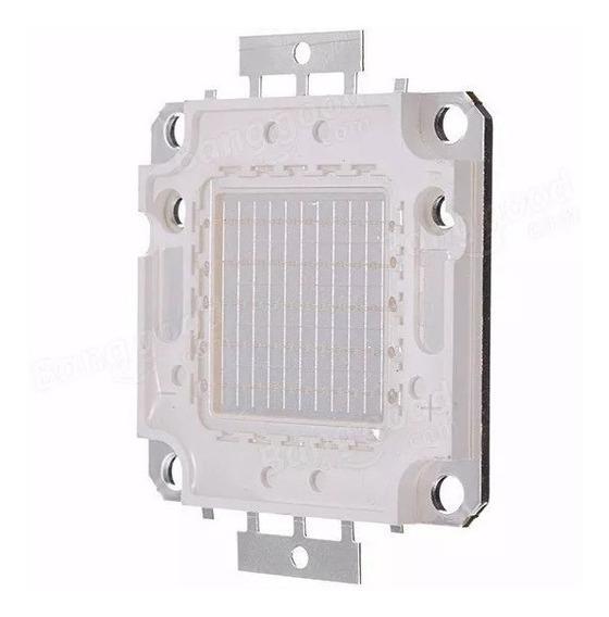 Kit 5 Chip Led 50w P/ Reposição De Refletor Varias Cores