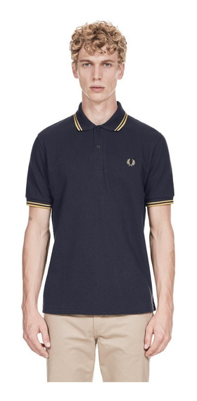 Polo Fred Perry M12 Hecha En Uk 44 Xl