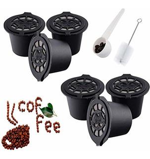 Soprety 6pcs Nespresso Cápsulas Reutilizables