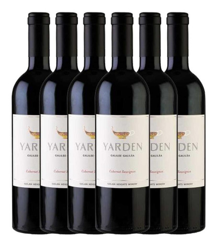 Imagem 1 de 3 de 6x Vinho Yarden Kosher Cabernet Israel 750ml