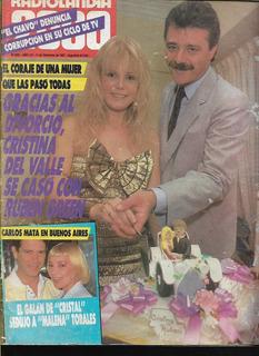 Radiolandia 2000 / Nº 3091 / 1987 / Cristina Del Valle A37