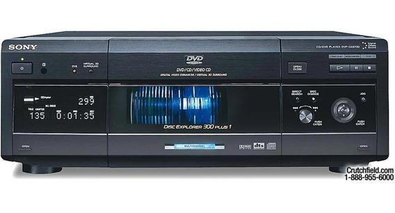 Disqueteira Dvd Cd Player Sony Dvp-cx870 Mega Storage Hi End