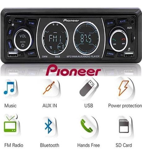 Reproductor De Carro Pioneer Usb, Aux, Bluetooth Y Control