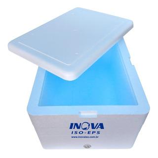 Caixa Térmica Conservadora Grande Isopor 100 Litros + Dreno