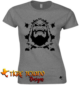 Playera Dibujos Animados Skelletor By Tigre Texano Design