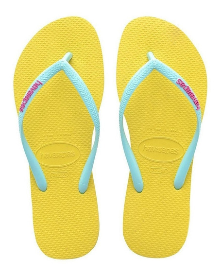 Sandalias Havaianas Slim Logo Pop-up Originales
