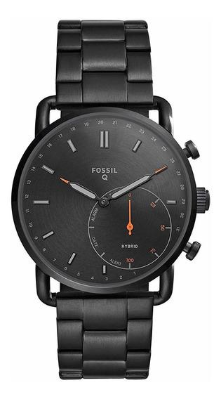 Fossil Ftw1148 - Reloj Inteligente Hibrido (q Commuter Acero