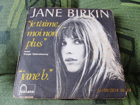 Compacto Jane Birkin Serge Gainsbourg Françaje T