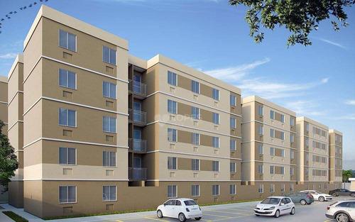 Apartamento À Venda, 45 M² Por R$ 147.700,00 - Maria Paula - São Gonçalo/rj - Ap46032