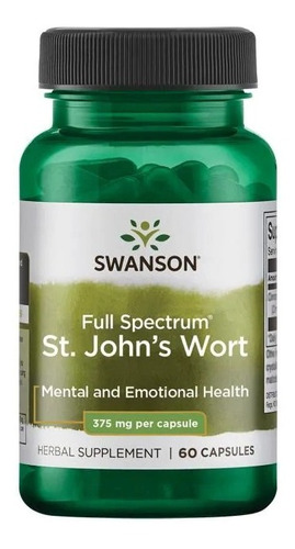 St. John's Wort 60caps 375mg
