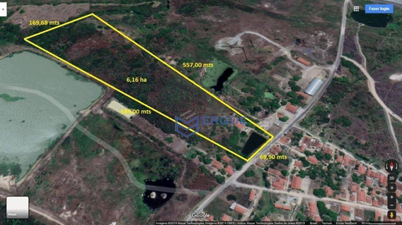 Terreno À Venda, 61600 M² Por R$ 800.000,00 - Genipabu - Caucaia/ce - Te0037