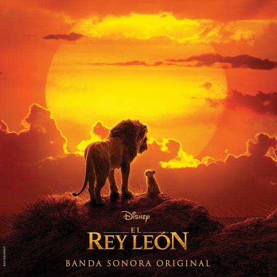 Soundtrack Pelicula El Rey Leon Cd Nuevo 2019 Original Stock