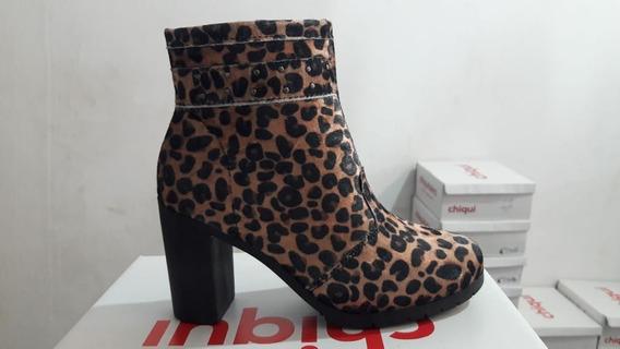 Bota Coturno Sapato Feminino Chiquiteira Chiqui/3724