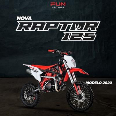 Mini Moto Cross Raptor 125 Cc - Quadri E Cia Off Road