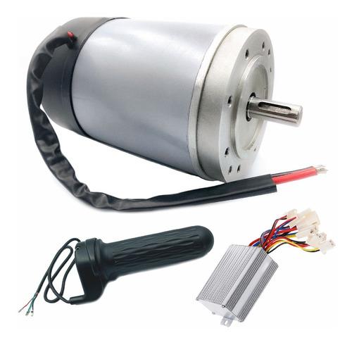 Motor Dc 12v 500w Módulo Controlador Acelerador De Punho Mercado Livre