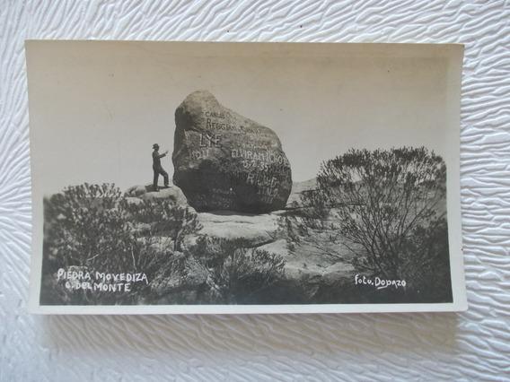 8678- Antigua Foto T/ Postal Cordoba, Capilla Monte Dopazo