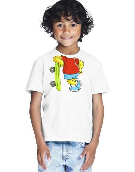 Camiseta Infantil Masculina Menino Corpo
