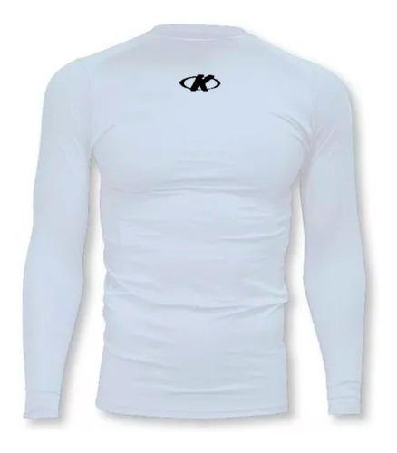 Camiseta Térmica Manga Larga Running De Hombre Knex Mvdsport