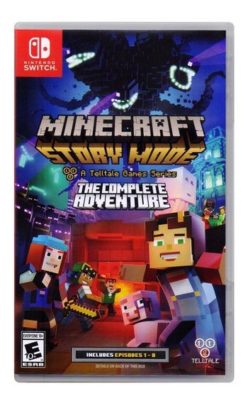 Minecraft Story Mode Nintendo Switch Juego Nuevo En Karzov