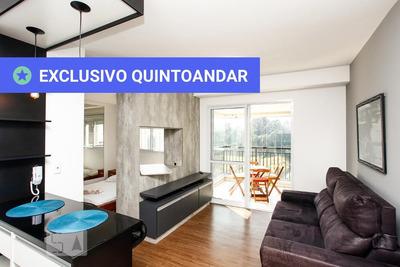 Studio No 7º Andar Mobiliado Com 1 Dormitório E 1 Garagem - Id: 892932615 - 232615