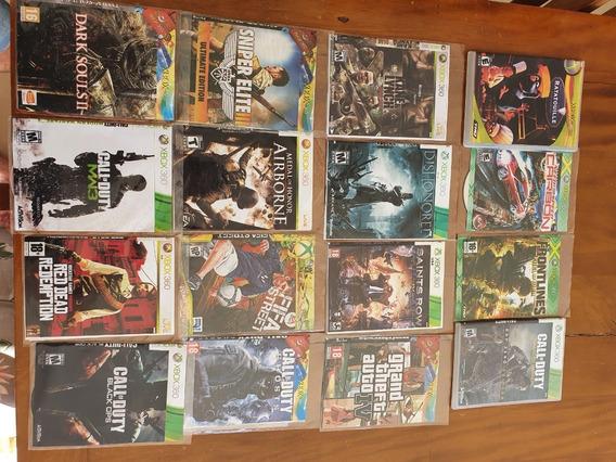 Lote 27 Jogos Xbox 360 Desbloqueio Lt 3.0 Mídia Física