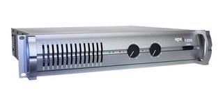 Potencia Apx 1200 Tecshow 640w X 2 Amplificador Dj En Cuotas
