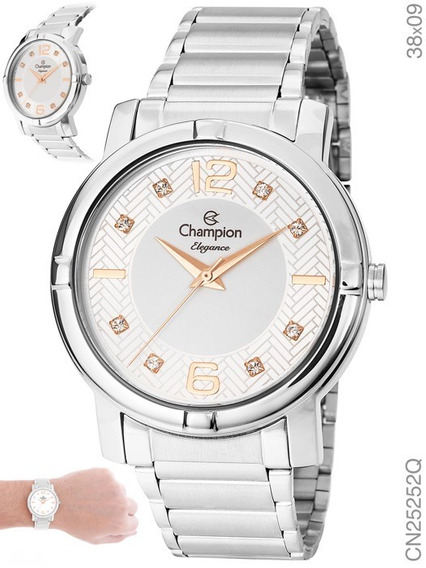Relógio Champion Feminino Cn25252q Original + Nota Fiscal