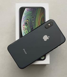 iPhone XS 256 Gb Cinza Espacial Apple + 2 Capinhas Otterbox