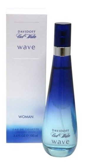 Perfume Davidoff Cool Water Wave Feminino 100ml Edt Lacrado