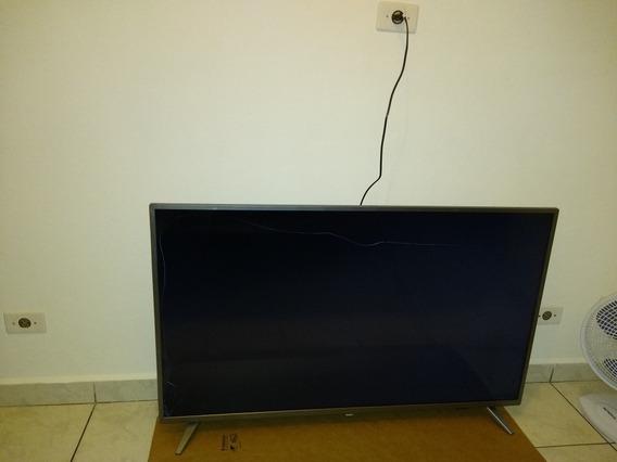Smart Tv Slim Led Philips 50 4k Com Pixel Precise Ultra Hd