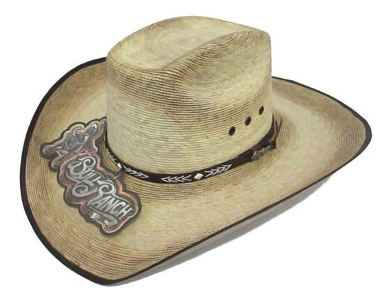 Sombrero Vaquero Palma Verde Ocho Segundos Bull Ranch.