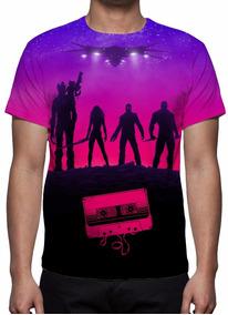 Camisa, Camiseta Guardiões Da Galáxia Mod 02