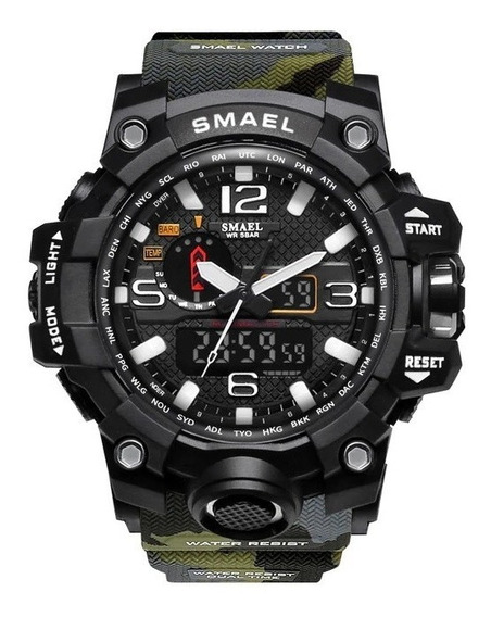 Relógio Masculino Militar Original + Fone Bluetooth Brinde