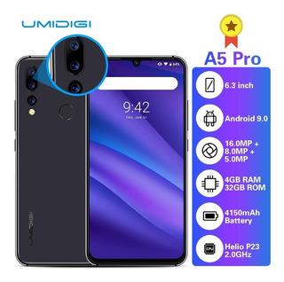 Smartphone Umidigi A5 Pro 6,3 (4gb/32gb) Cinza - P. Entrega