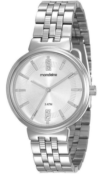 Elegante Relógio Mondaine Feminino Prata 94801l0mvne1 Fotos