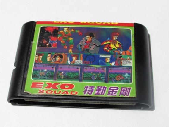 Exo Squad Paralelo Para Mega Drive