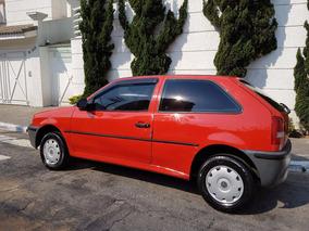 Volkswagen Gol 1.0 8v Gasolina Giii 2001 Vermelho Único Dono