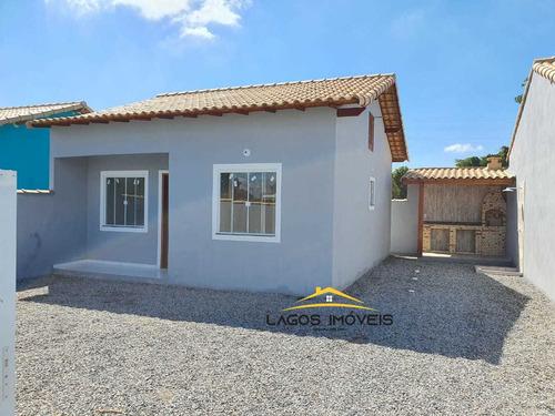 Imagem 1 de 10 de Casa Com 02 Quartos No Cond. Gravatá. Unamar - Cabo Frio/ Rj