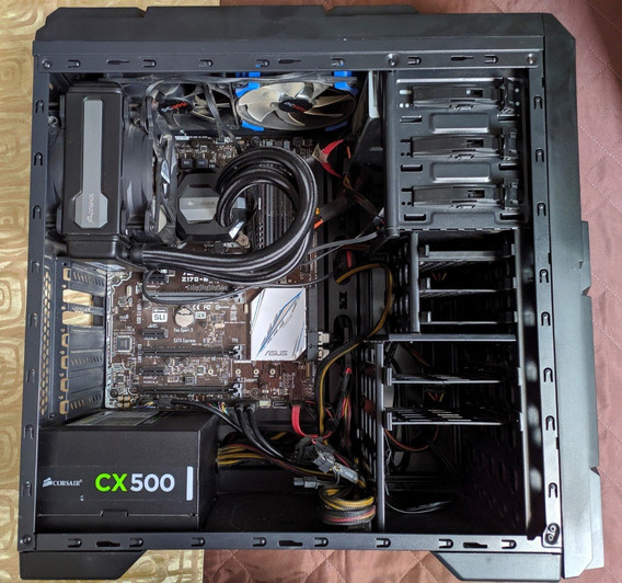 Pc Gamer - Cpu I7 6700k /ram 8gb/ Hd 1tb / Ssd 240gb / Ddr4