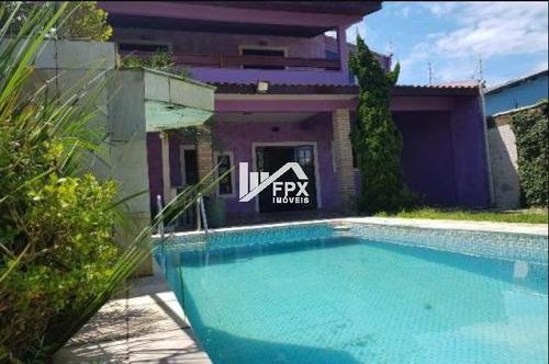 Casa Com Piscina Em Itanhaém, Lado Praia Ca076-f
