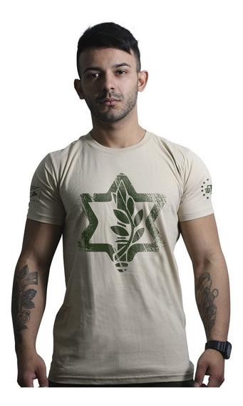 Camisa Militar Israel Defence Team Six